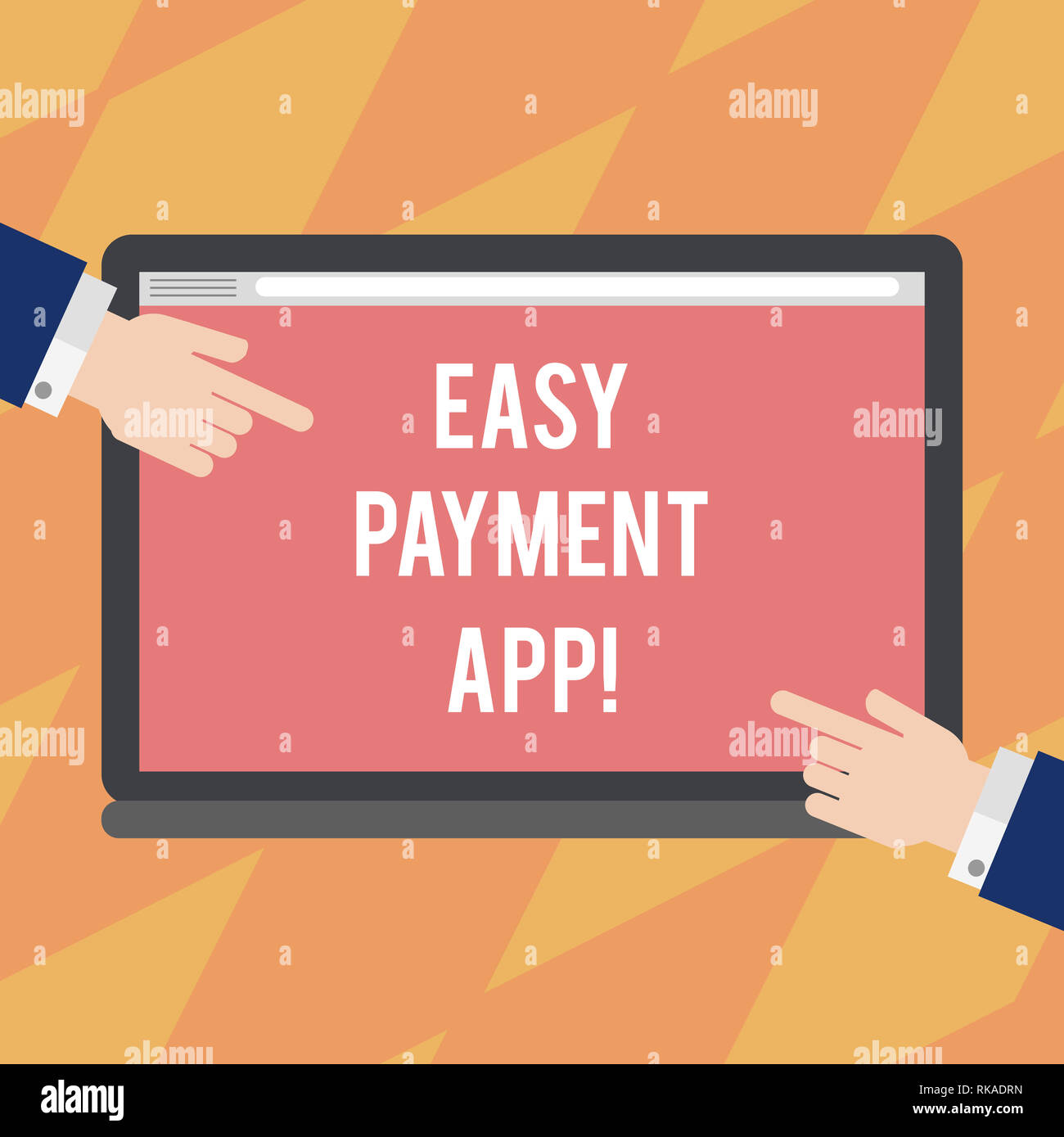 Text sign showing Easy Payment App  Conceptual photo money