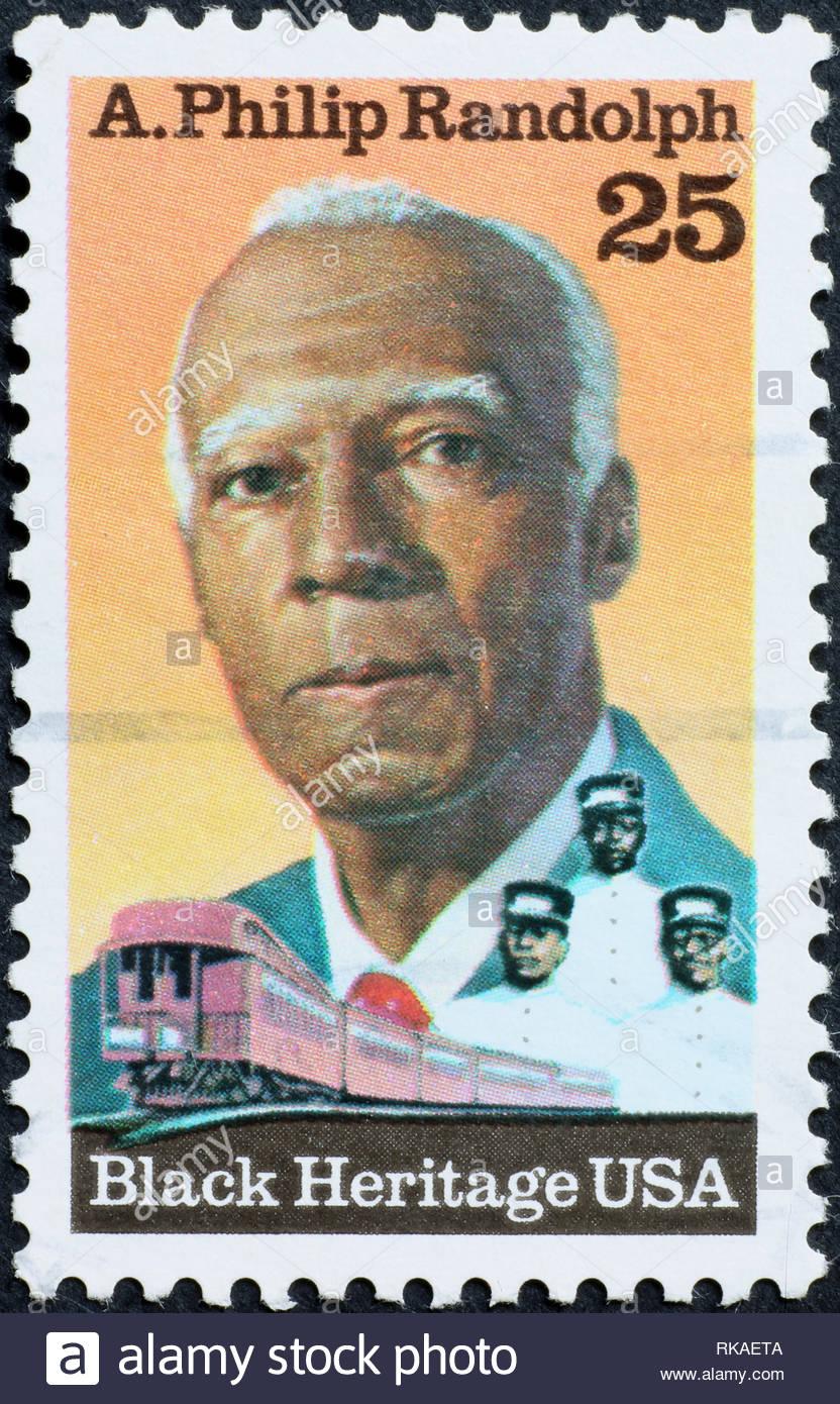 Philip Black King Bedroom Set: Black Heritage Stamp Stock Photos & Black Heritage Stamp