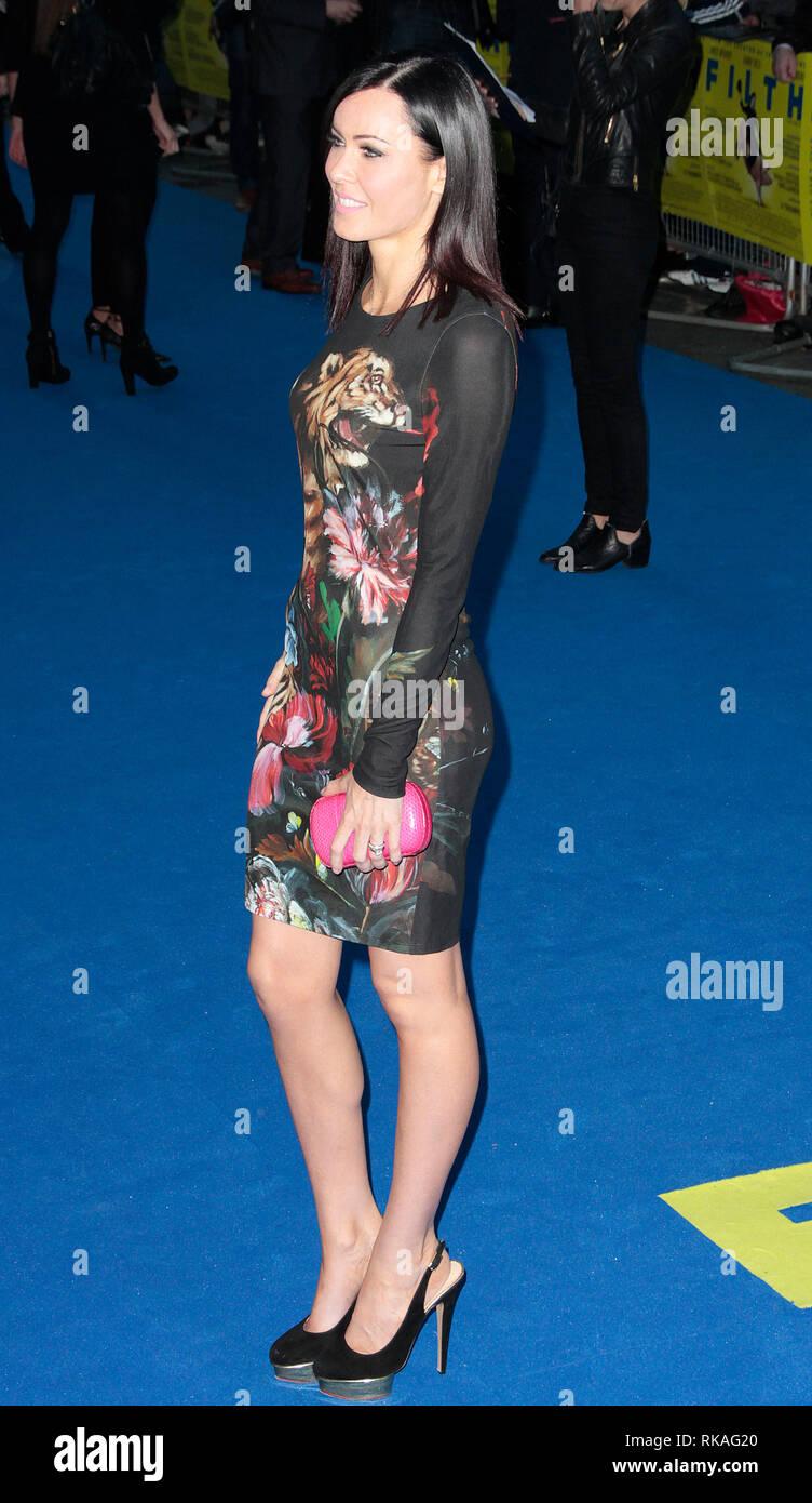 'Filth' - London Premiere, Red Carpet Arrivals Linzi Stoppard  arrives - Stock Image