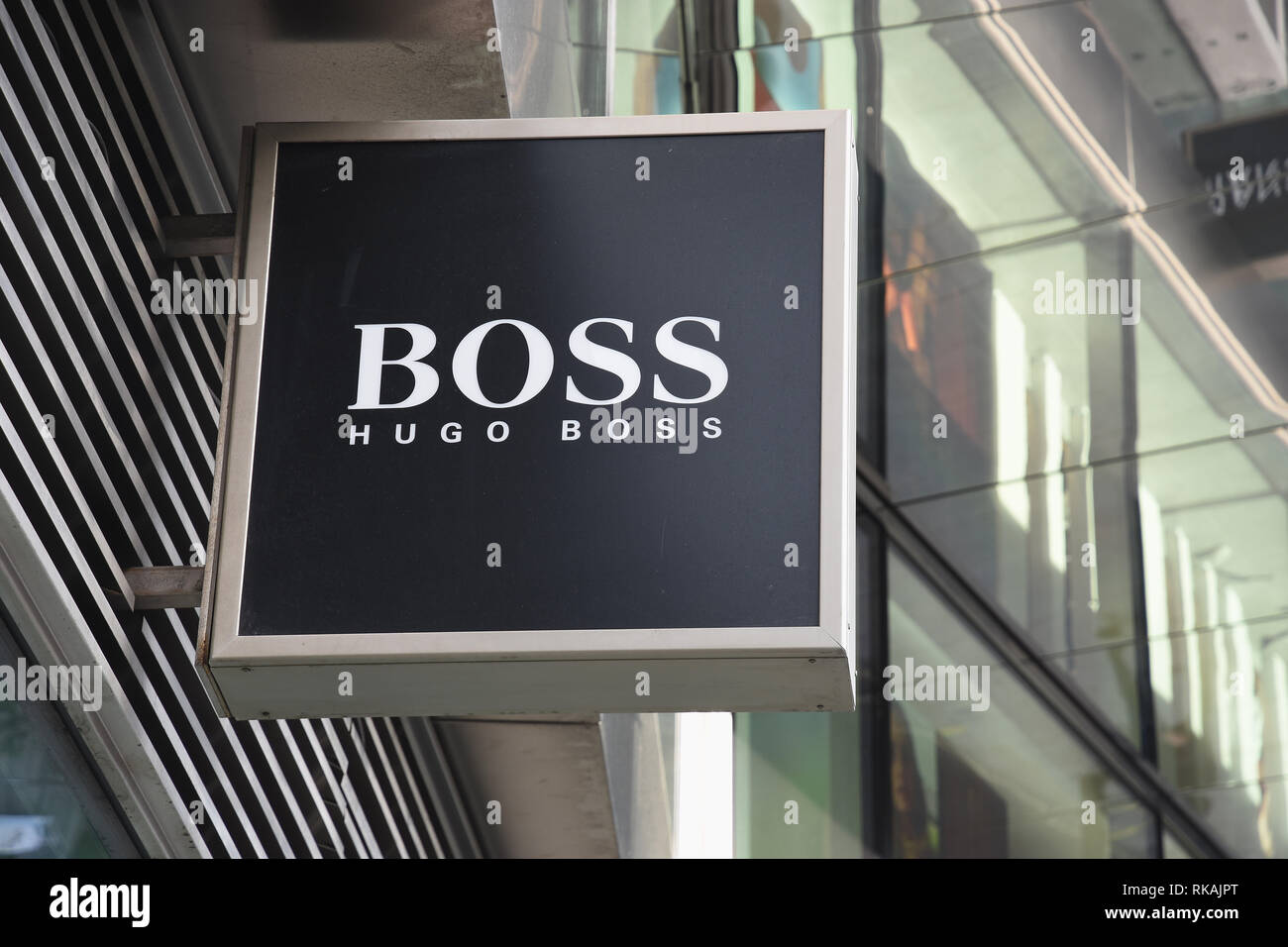 968ad6e3 Hugo Boss Sign,Hugo Boss,Kingsgate House,Victoria  Street,Victoria,Westminster