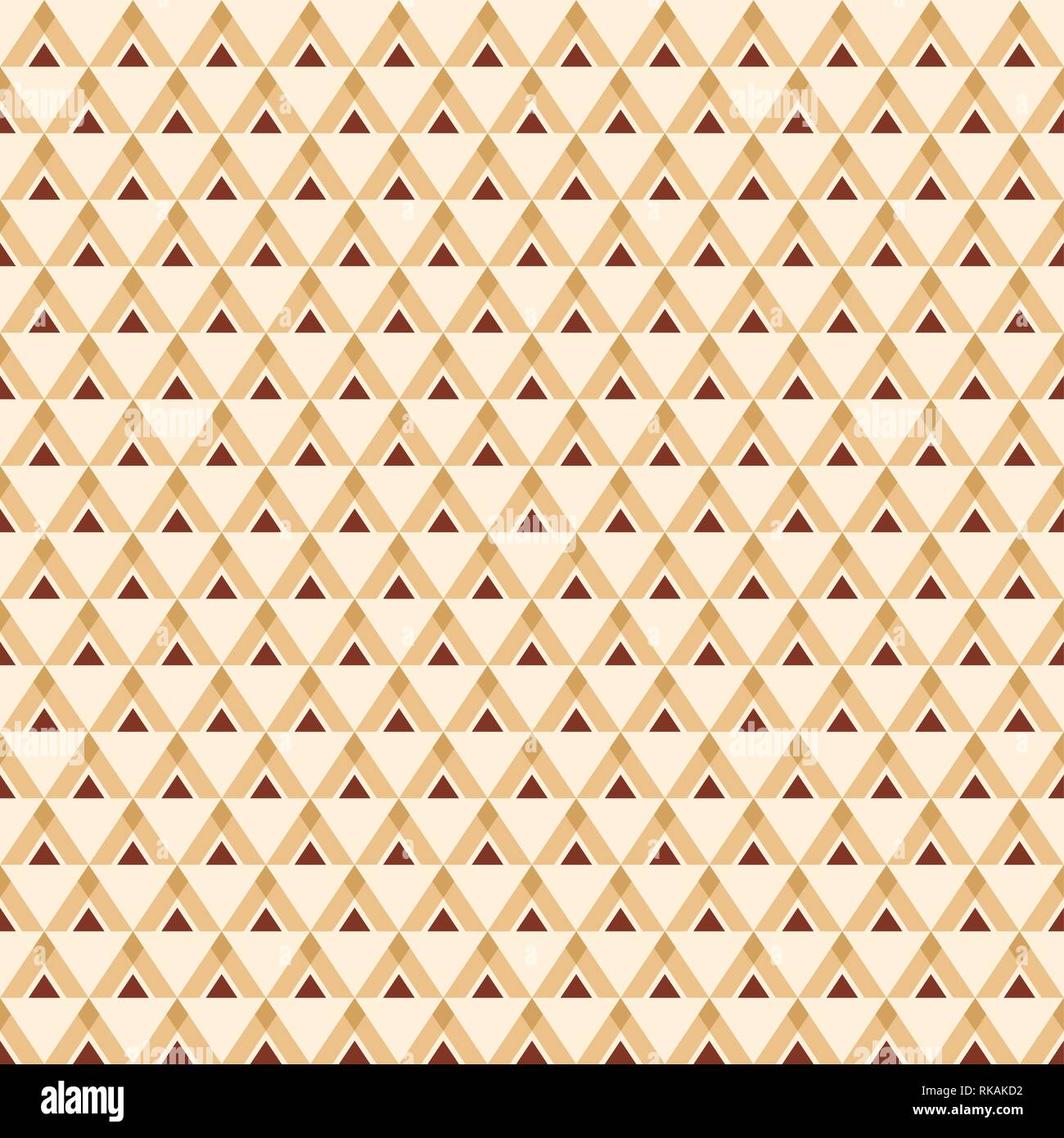 Abstract seamless geometric pattern with triangles  Ethnic pattern