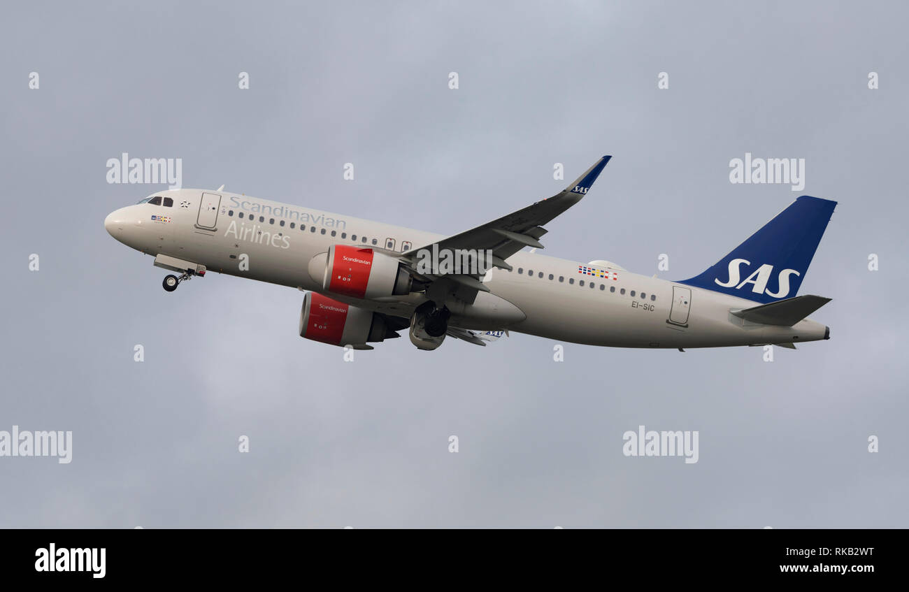 Scandanavian Airlines Ireland Airbus, A320neo, EI-SIC named