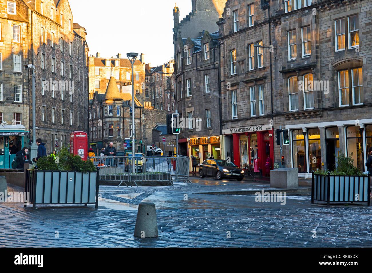 The Grassmarket, Edinburgh, Scotland - Stock Image