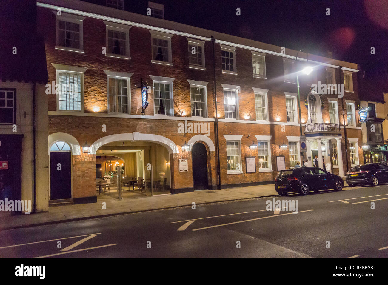 Beverley Arms Hotel, North Bar Without, Beverley, East Riding, Yorkshire, England Stock Photo