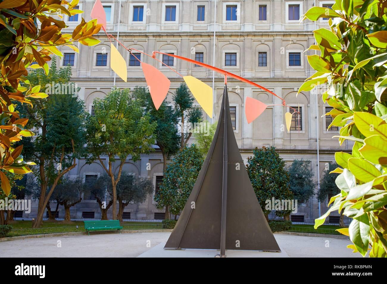 Carmen, 1974, Alexander Calder, Museo Nacional Centro de Arte Reina Sofia, Madrid, Spain, Europe - Stock Image
