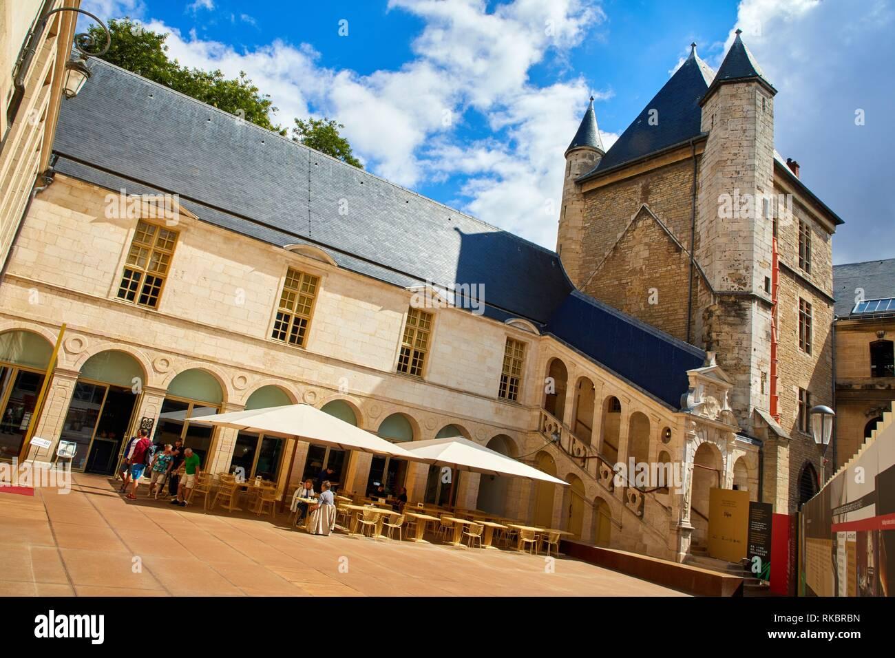 Tour de Bar, Musée des Beaux-Arts, Dijon, Côte d´Or, Burgundy Region, Bourgogne, France, Europe Stock Photo