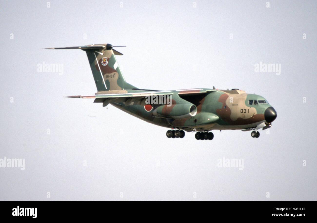 Japanische Luftwaffe JASDF Kawasaki C-1 - Stock Image