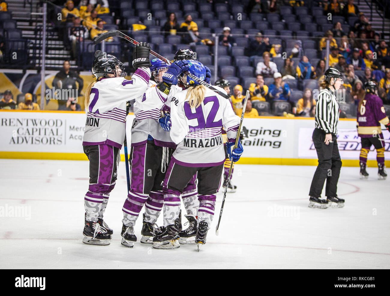 National Women S Hockey League Stock Photos National Women S