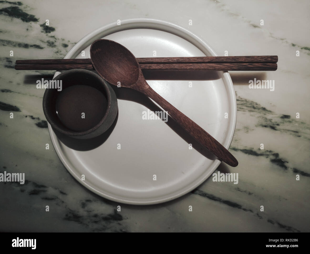 Chinese Traditional Tableware Stock Photo
