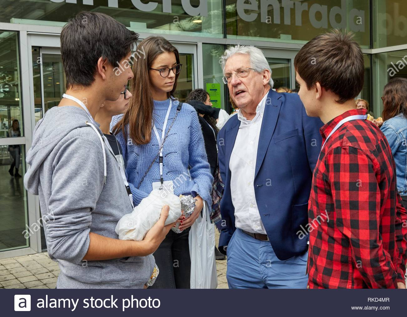 Pedro Miguel Echenique Landiribar (Professor of Condensed Matter Physics from the University of the Basque Country).X edition of 'Top @ - Stock Image