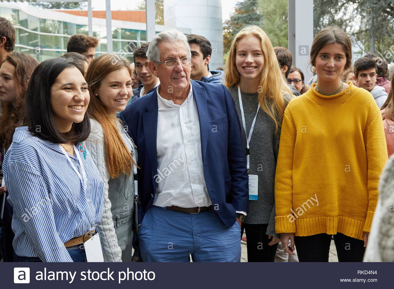 Pedro Miguel Echenique Landiribar (Professor of Condensed Matter Physics from the University of the Basque Country).10th edition of 'Top @ - Stock Image