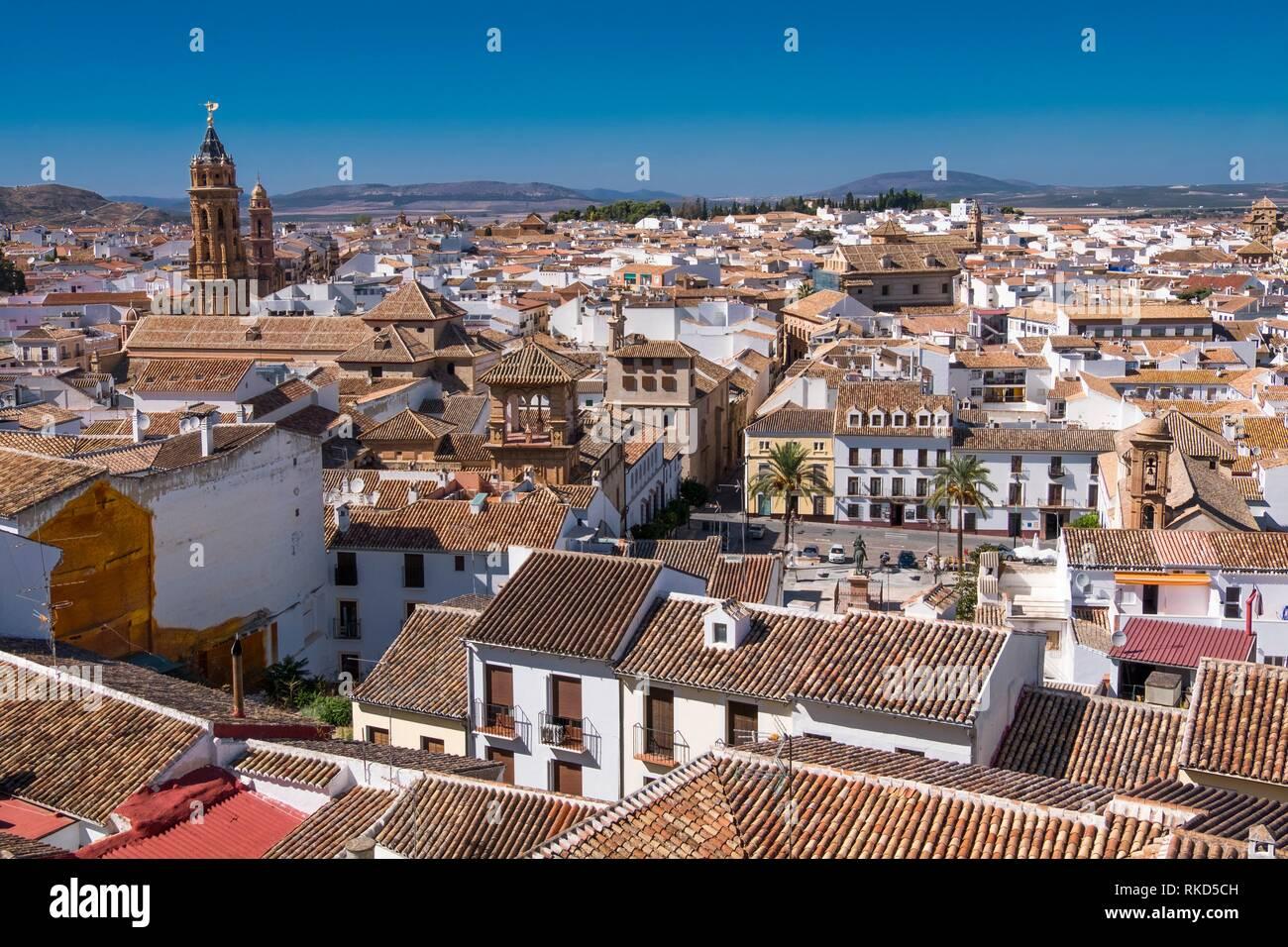 Spain, Andalusia, Malaga Province, Antequera - Stock Image
