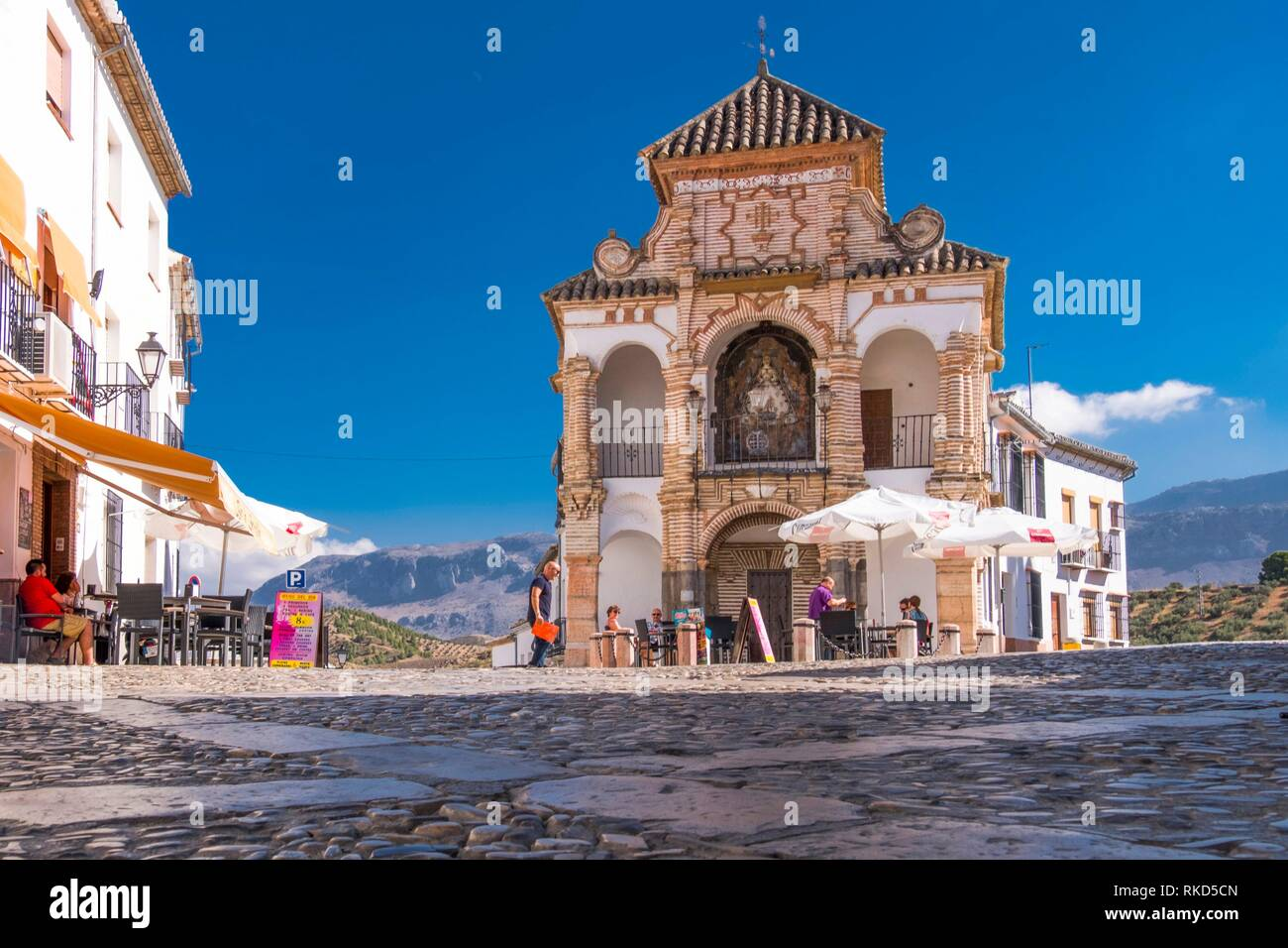 Spain, Andalusia, Malaga Province, ''El Portichuelo'' at Antequera. - Stock Image