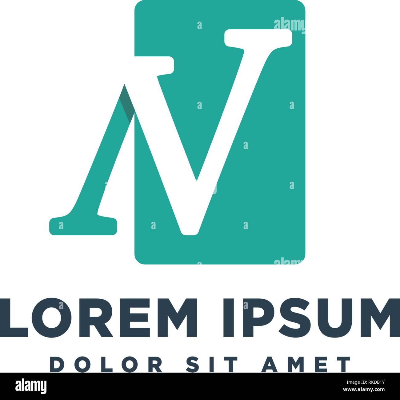 letter N business logo template vector illustration icon element - vector - Stock Vector