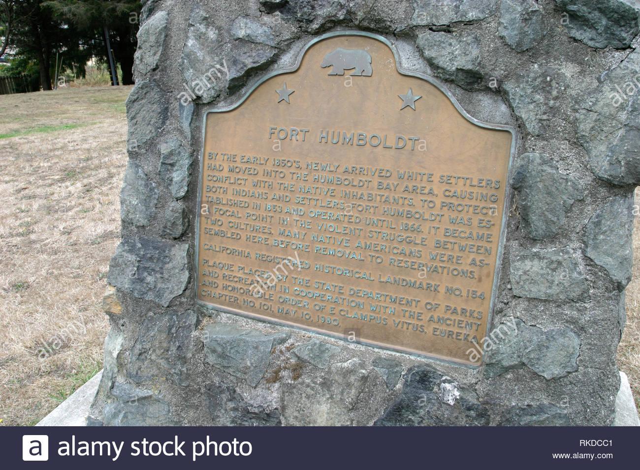 Fort Humboldt State Historic Site Eureka California Usa