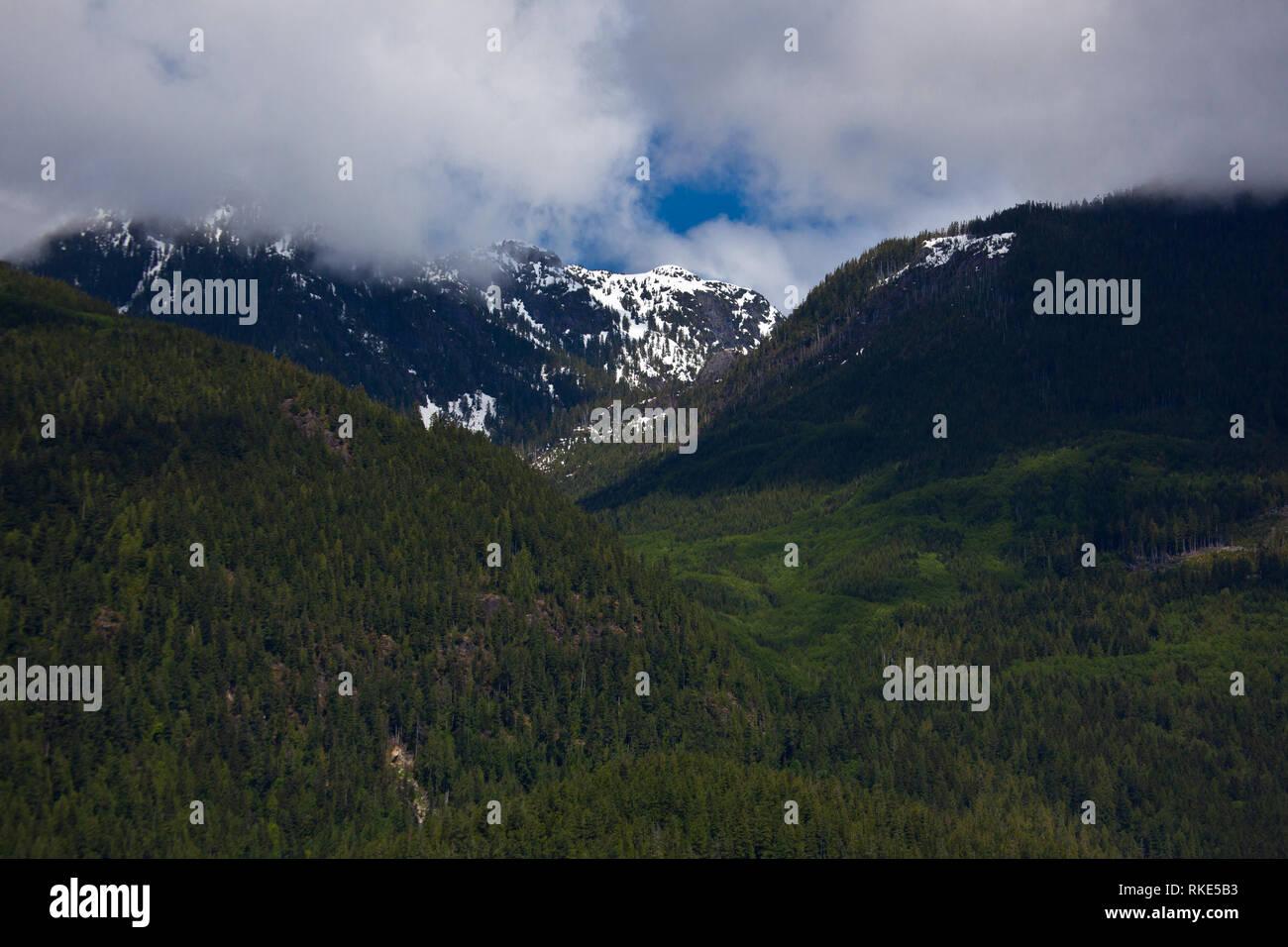 , Desolation Sound, British Columbia, Canada - Stock Image