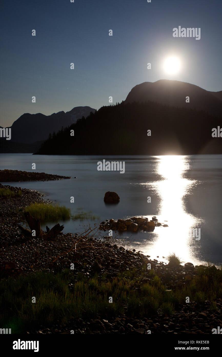 Toba Inlet, Desolation Sound, British Columbia, Canada - Stock Image