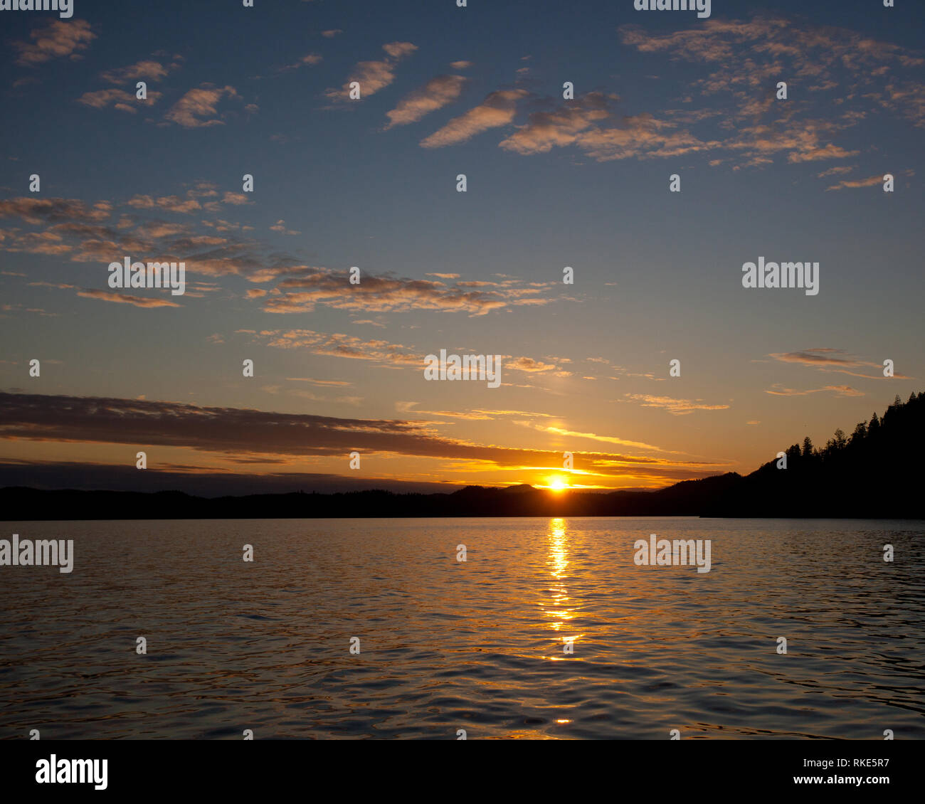 Desolation Sound, Desolation Sound, British Columbia, Canada - Stock Image