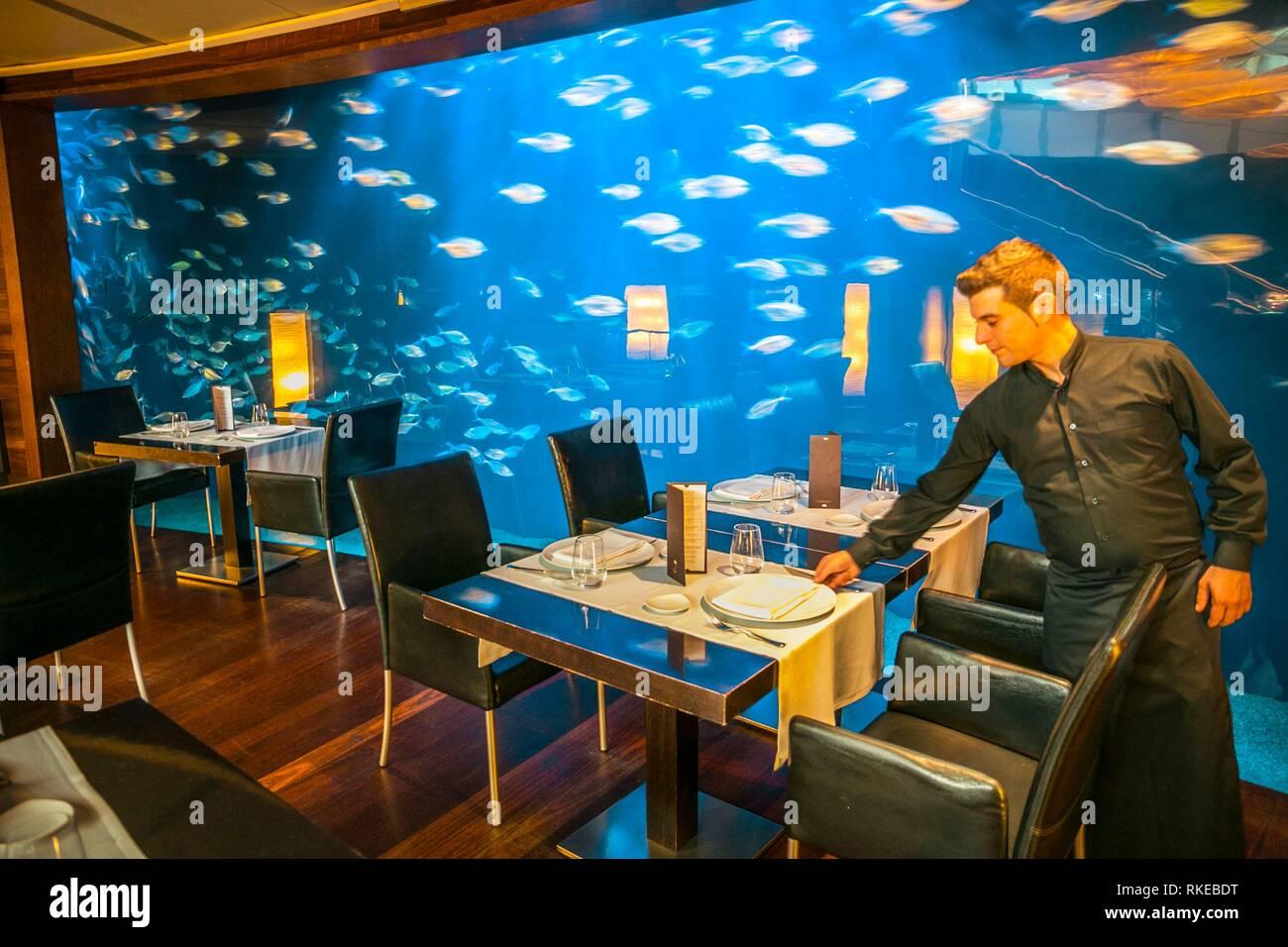 Submarino Restaurant. Oceanografic. City of Arts and Sciences. Valencia. Comunidad Valenciana. Spain. - Stock Image