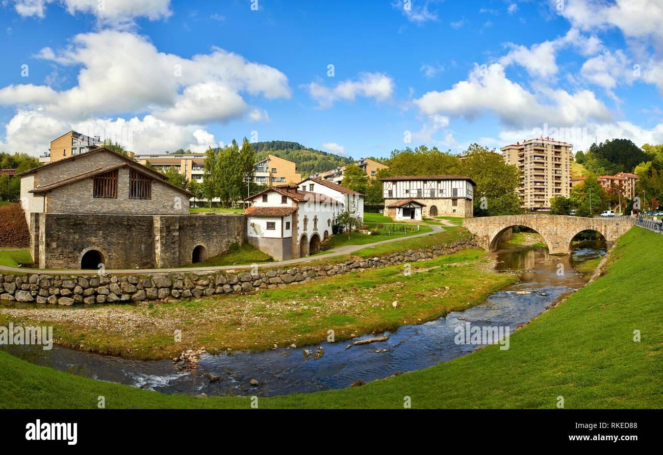 Monumental Ensemble of Igartza, Beasain, Gipuzkoa, Basque Country, Spain, Europe - Stock Image