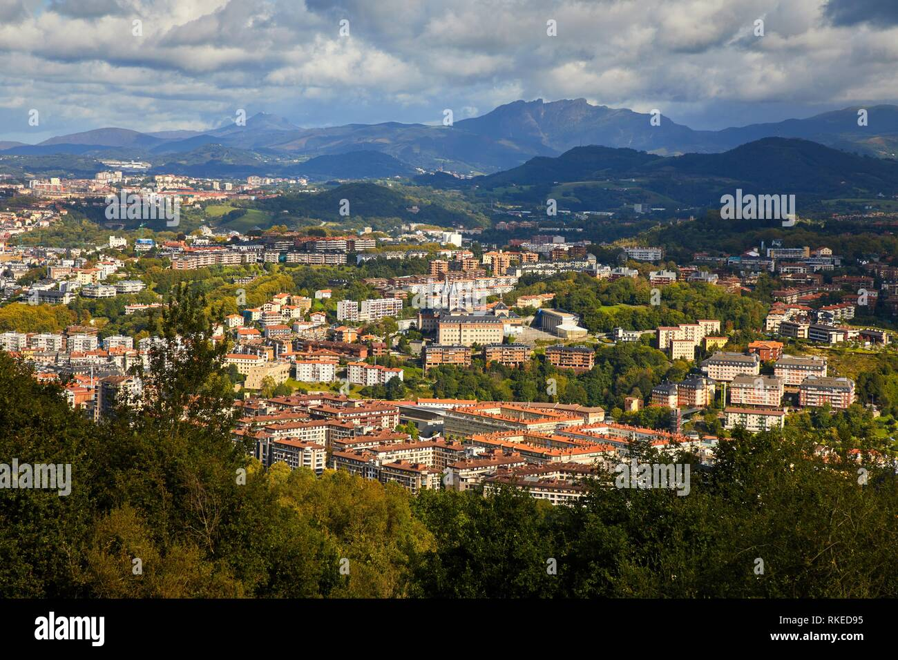 Antiguo quarter, Donostia, San Sebastian, Gipuzkoa, Basque Country, Spain, Europe - Stock Image