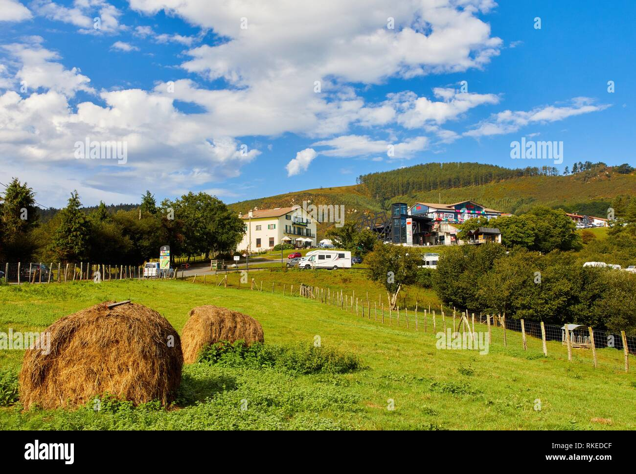 Ibardin, Navarra, Spain, Europe Stock Photo
