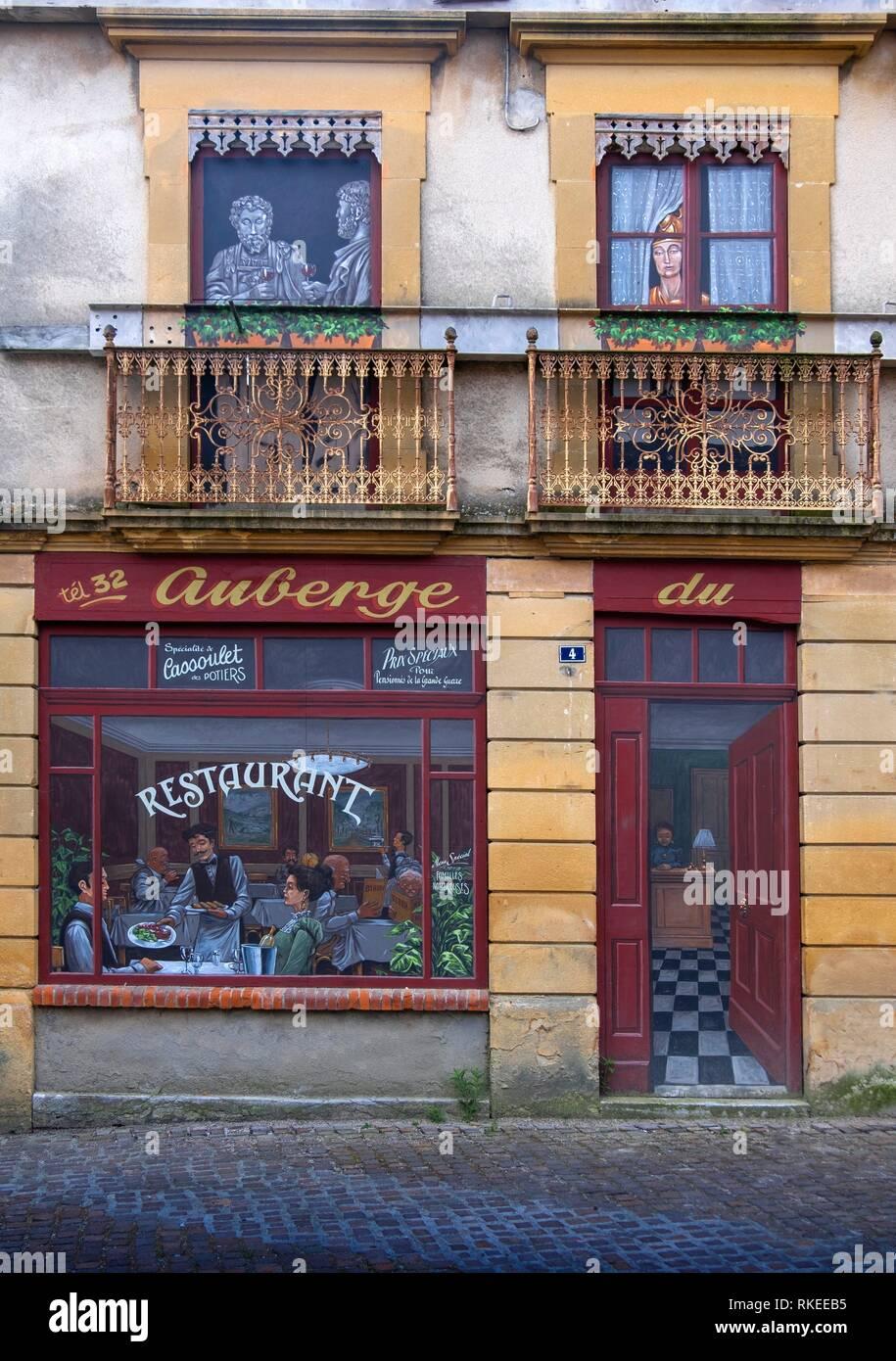 France, Occitanie, Haute Garonne, At Martres Tolosan. - Stock Image