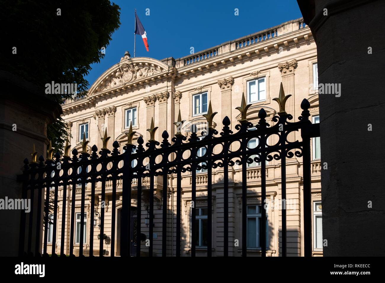 France, Nouvelle Aquitaine, Gironde, Military Command Palace, at Bordeaaux. - Stock Image