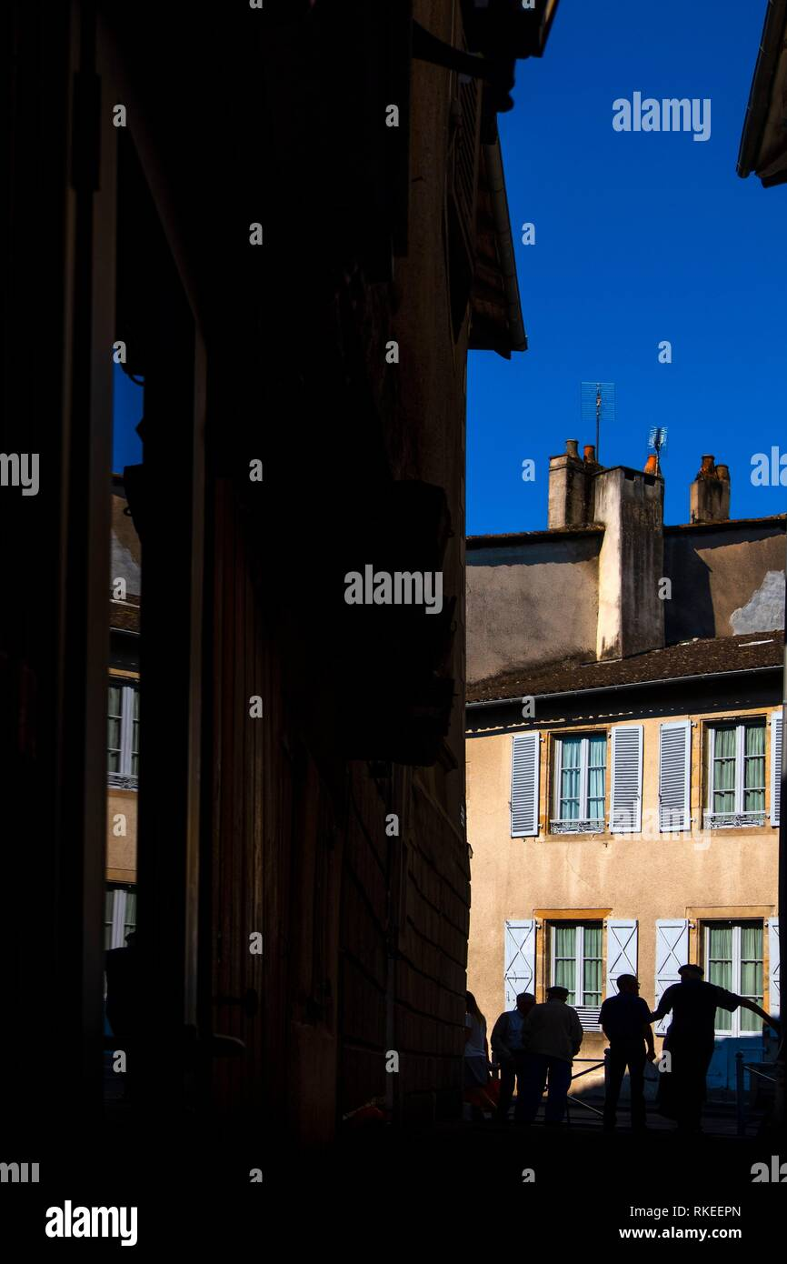 France, Auvergne, Cantal, at Maurs. - Stock Image