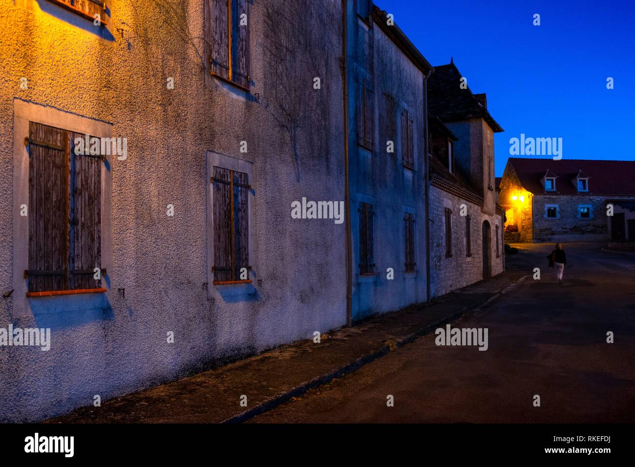 France, Occitanie, Lot, at the village of Payrac. - Stock Image