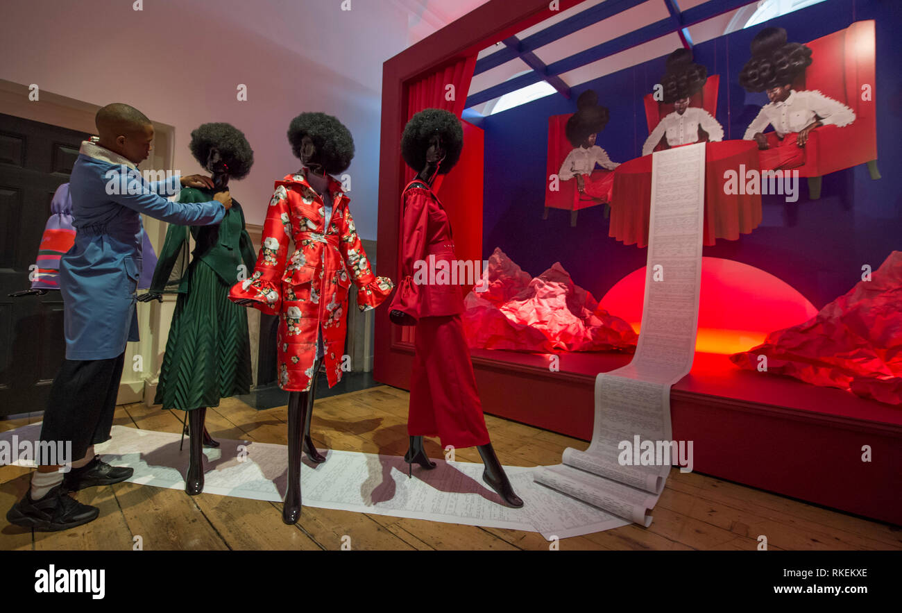African Fashion Week London High Resolution Stock Photography And Images Alamy