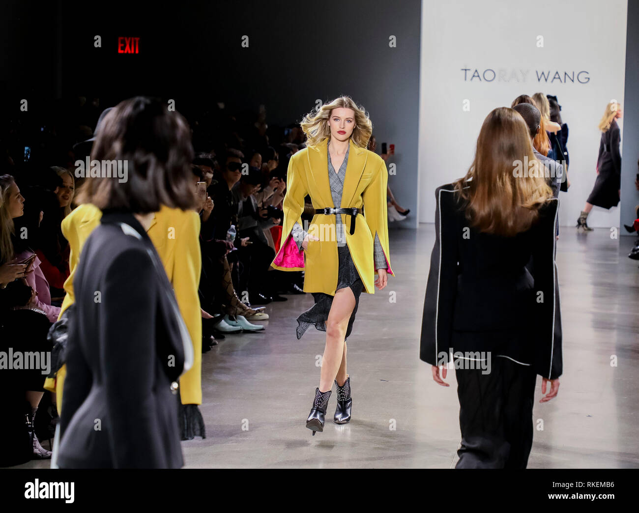 New York Fashion Week Spring 2019 Stock Photos New York Fashion