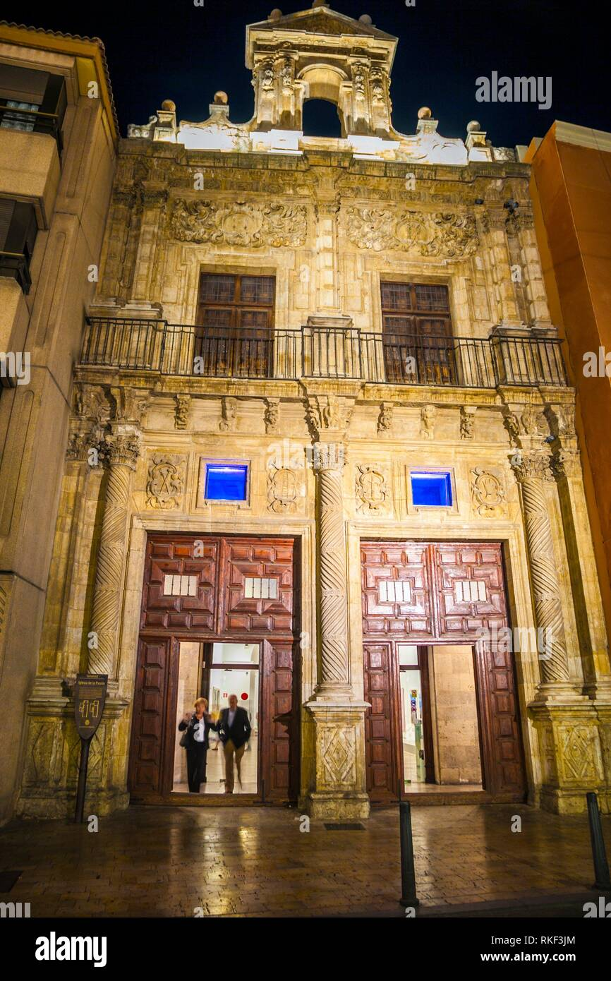 Pasion Old Church, Today Picture Museum, Valladolid, Castilla y Leon, Spain - Stock Image