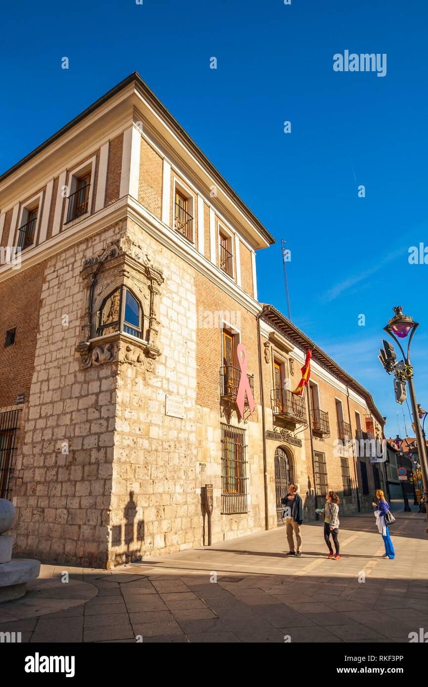 Pimentel Palace, Valladolid, Castilla y Leon, Spain - Stock Image