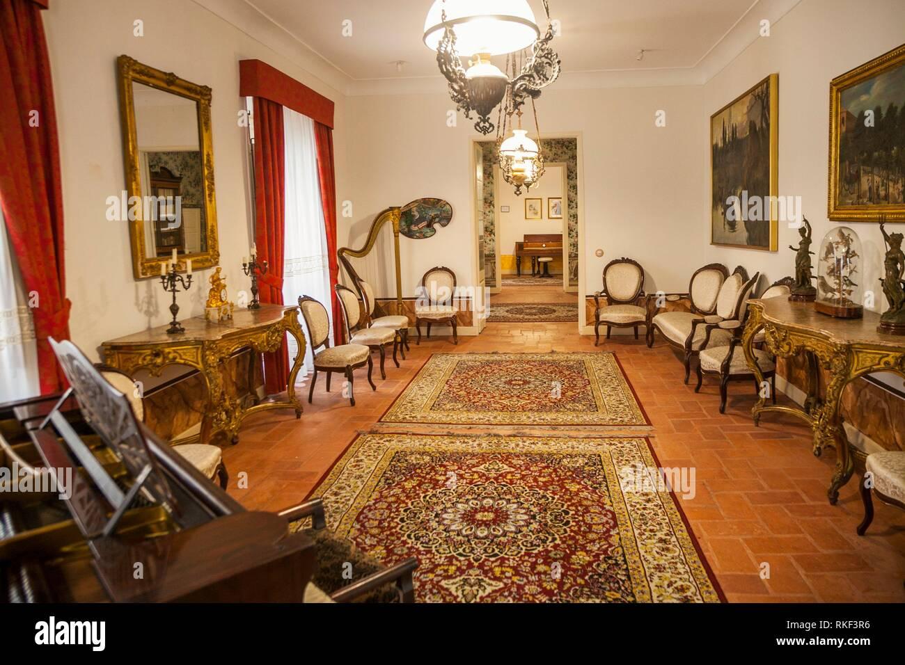 Poet Jose Zorrilla House, Valladolid, Castilla y Leon, Spain - Stock Image