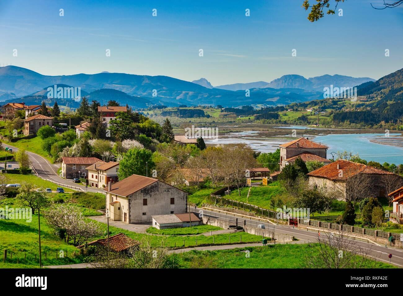 Kanala. Urdaibai Biosphere Reserve. Biscay, Basque Country, Spain. - Stock Image