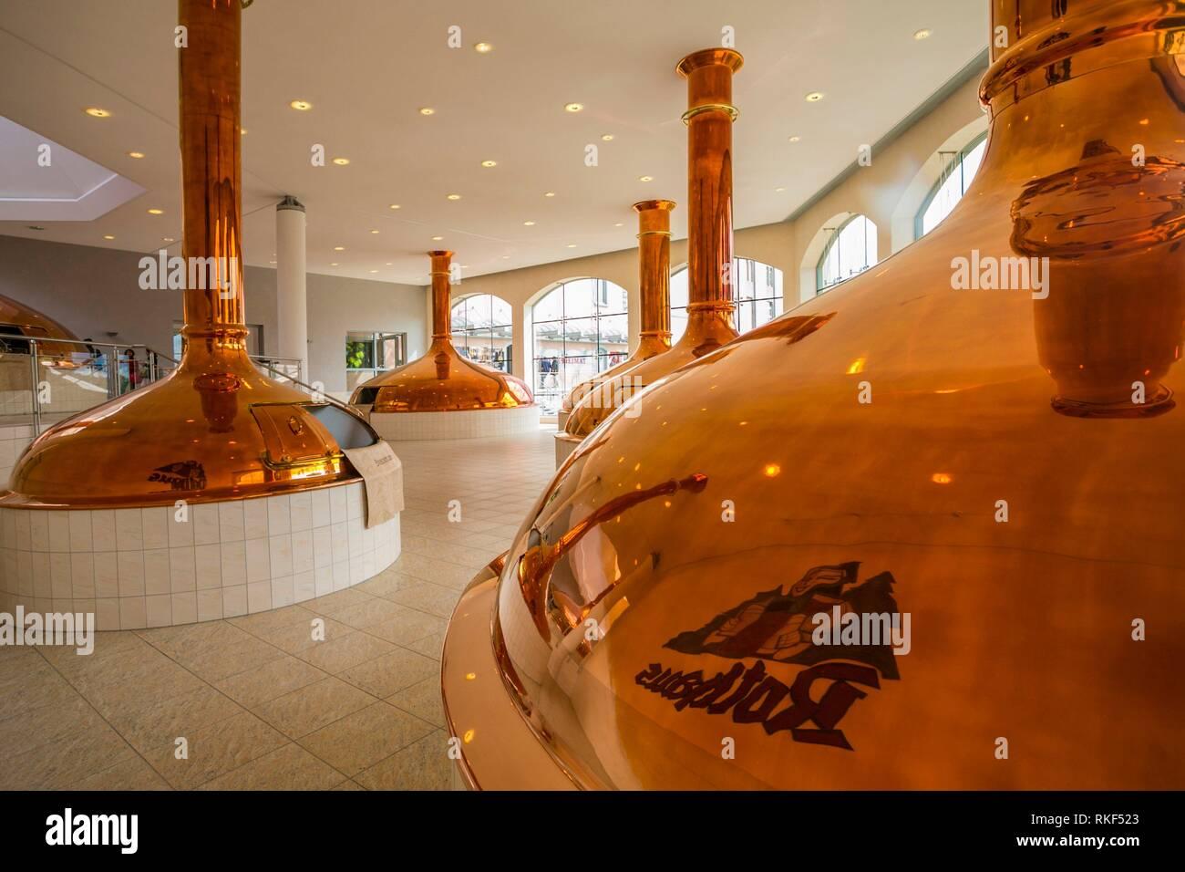 Rothaus brewery. Grafenhausen. Black Forest. Baden Wurttemberg. Germany - Stock Image