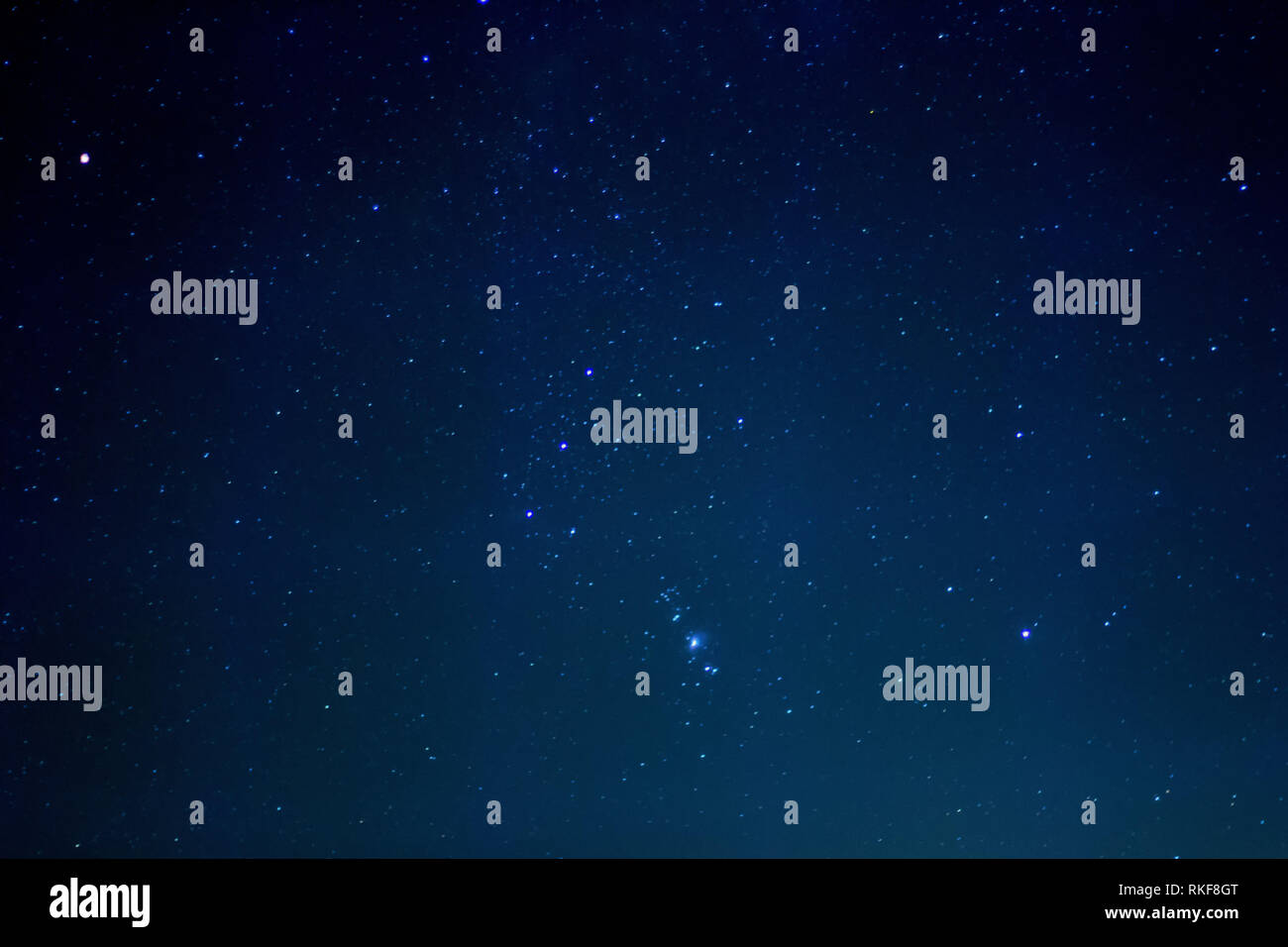 Stars on Firmament - Stock Image