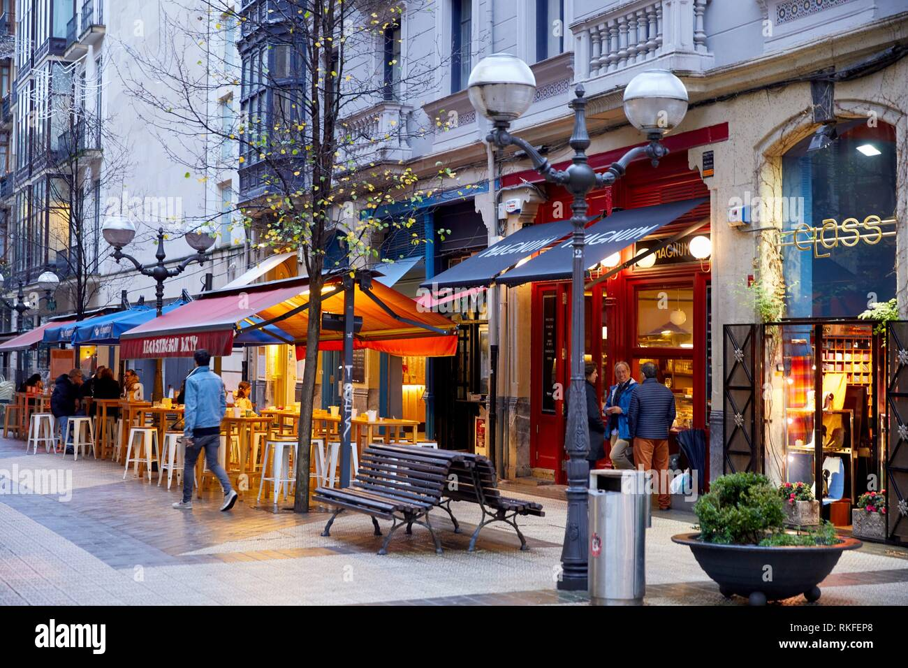 Spain Basque Country Bilbao Bar High Resolution Stock Photography And Images Alamy