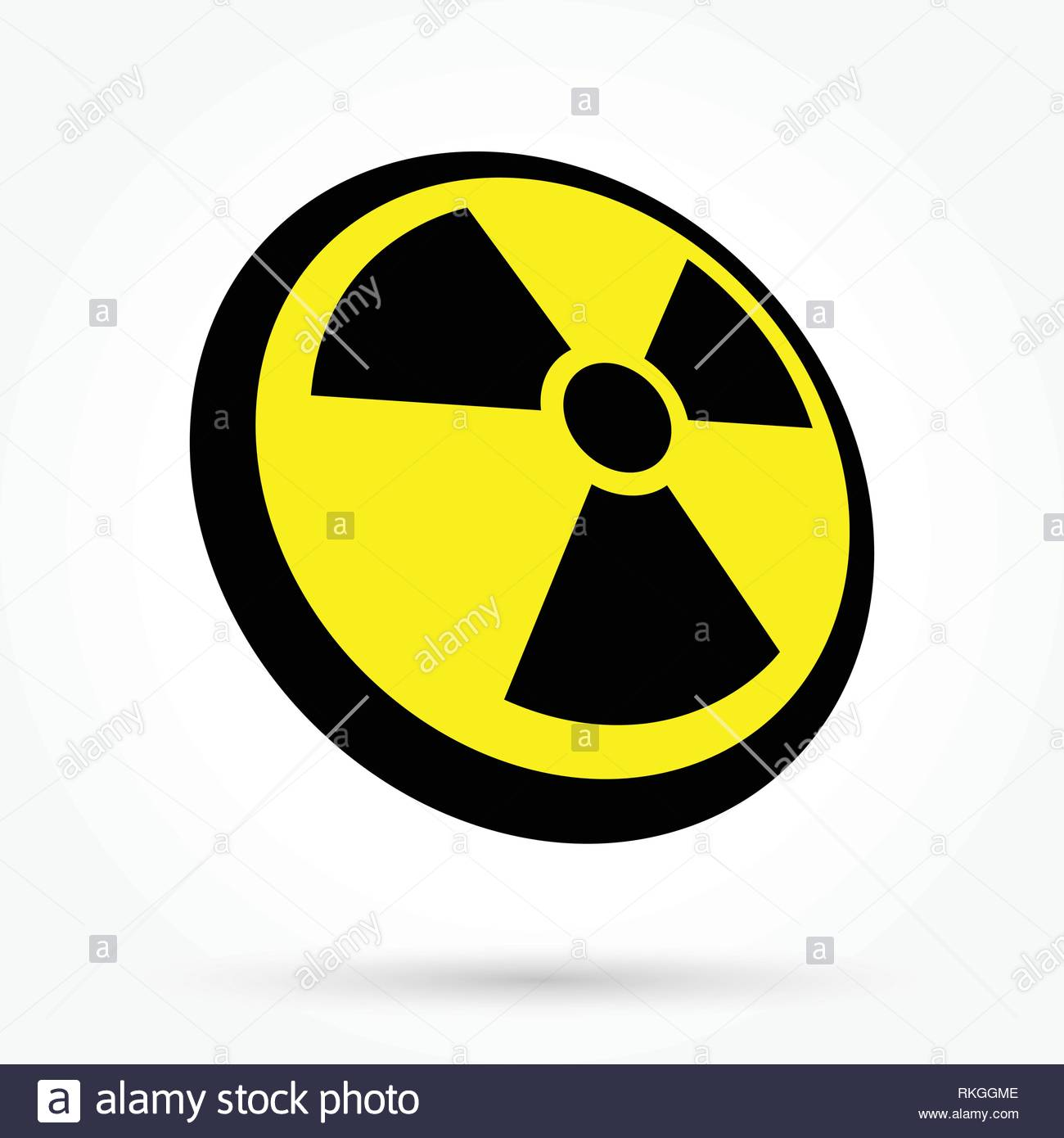nuclear icon - Stock Vector