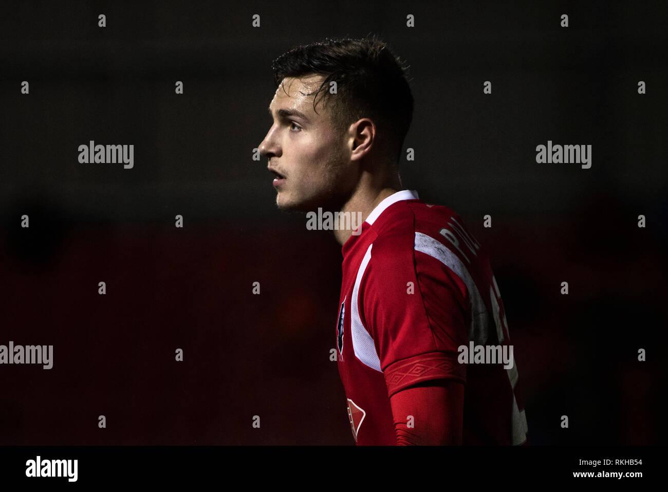 Denis Politic. Salford City FC. - Stock Image