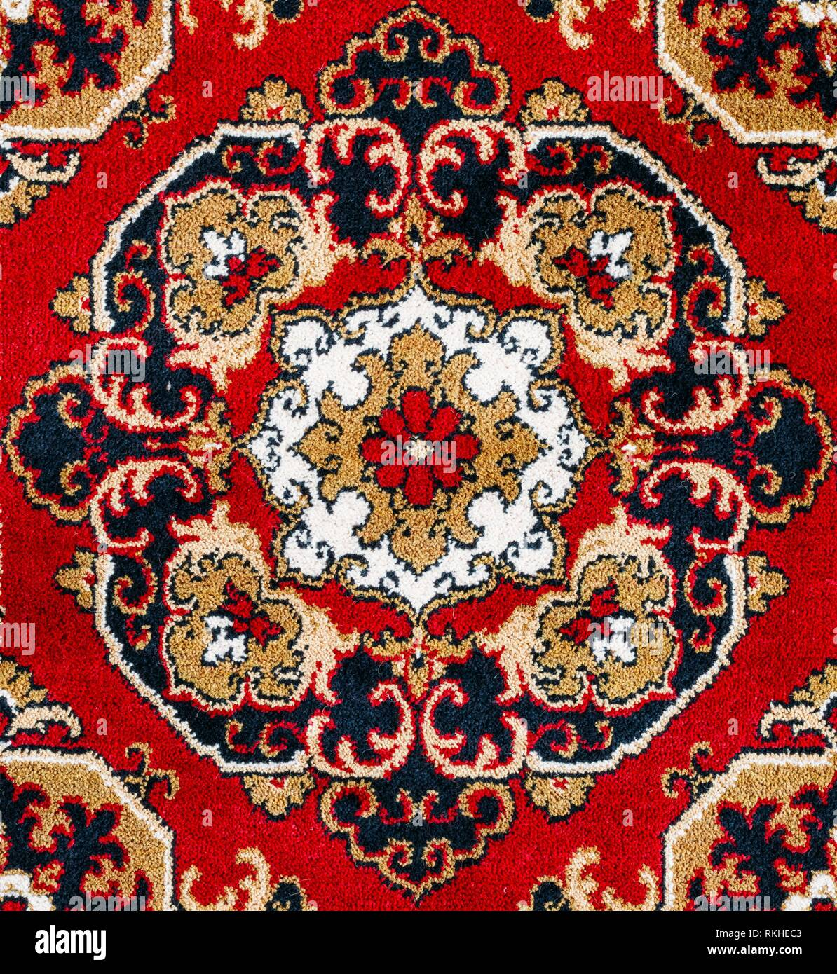 Persian Rug Pattern High Resolution Stock Photography And Images Alamy