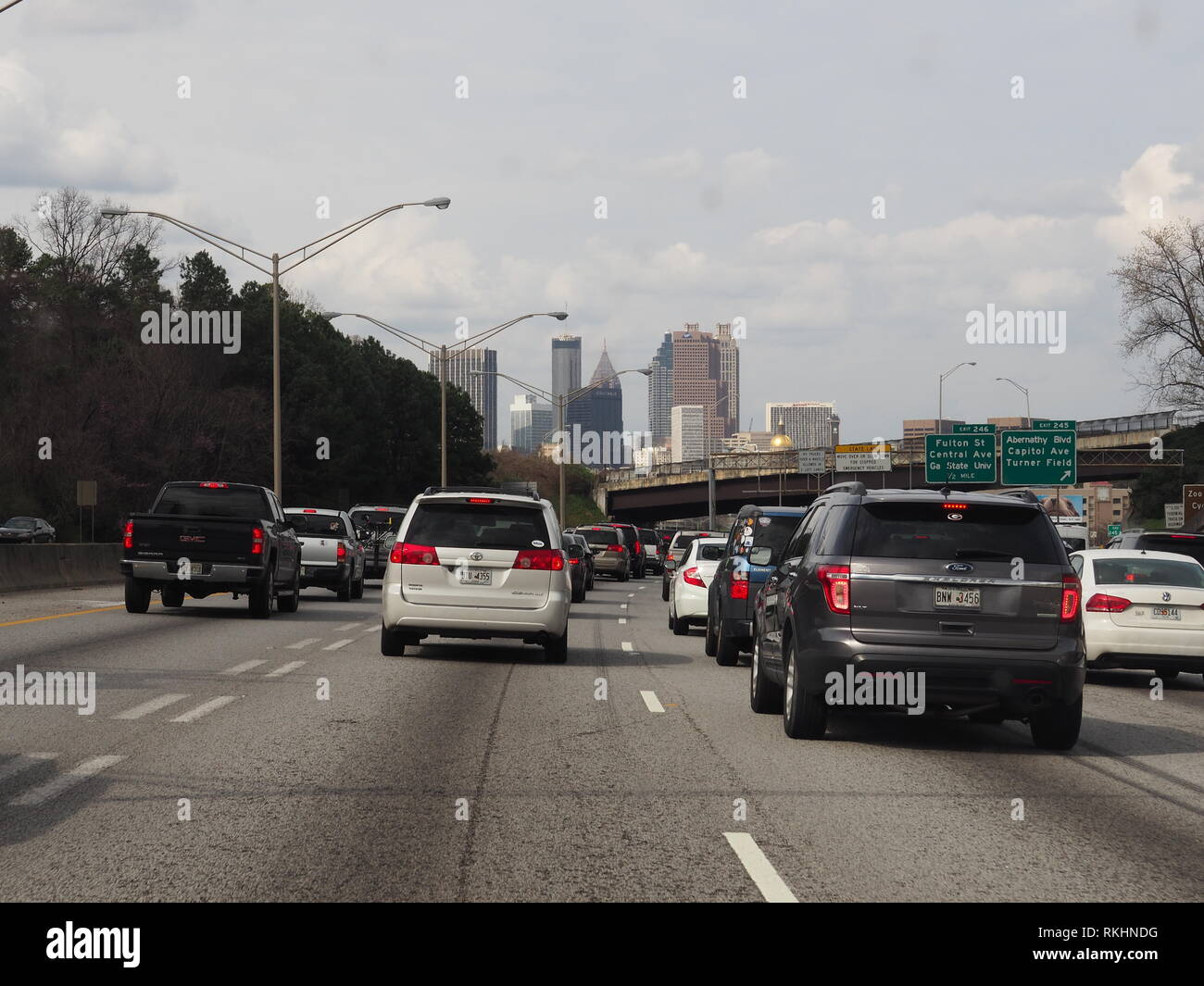 View Car Cars Atlanta High Resolution Stock Photography And Images Alamy