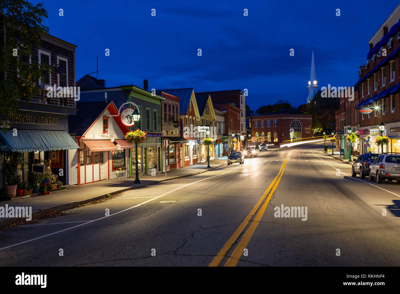Camden Maine Stock Photos & Camden Maine Stock Images - Alamy
