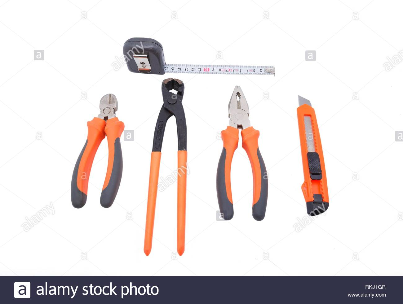 Set the tool on a white background. - Stock Image