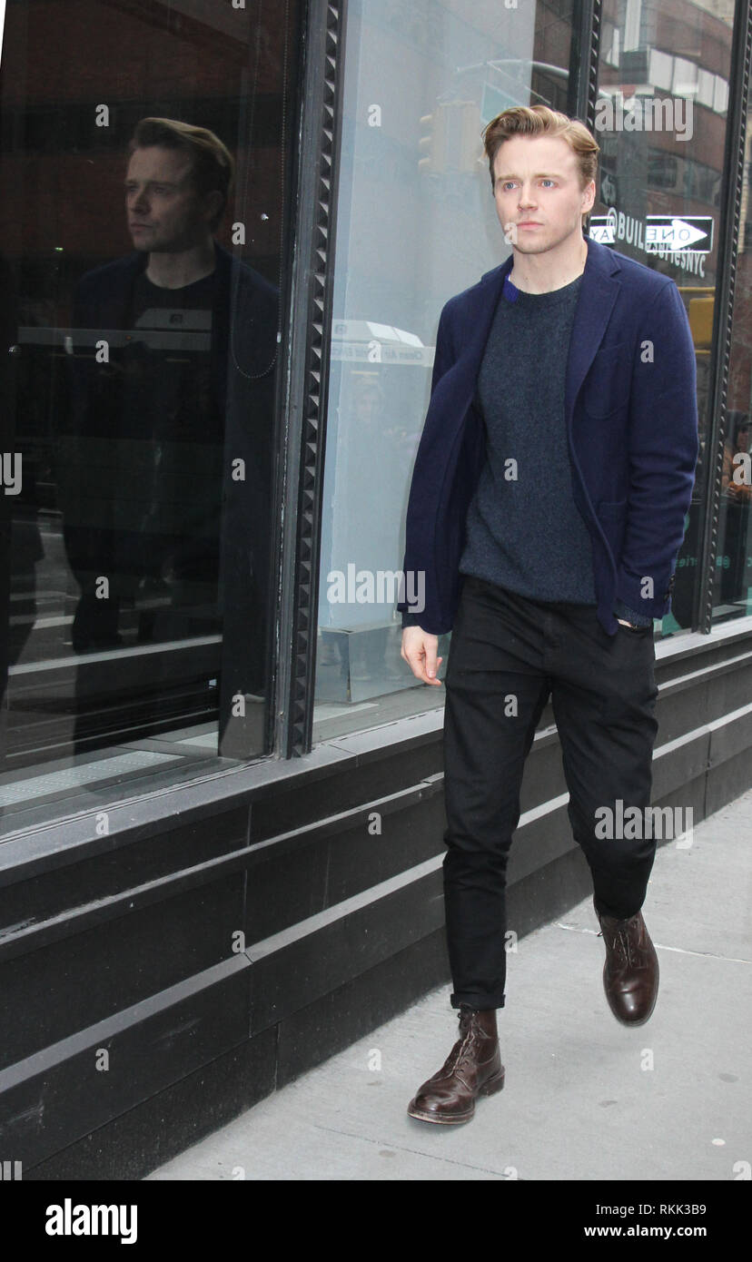 February 11, 2019 Jack Lowden to talk about new movie Fighting with Family in New York February 11, 2019 Credit:RW/Mediapunch - Stock Image