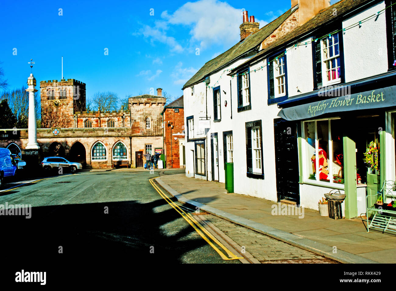 Appleby in Westmorland, Cumbria, England - Stock Image