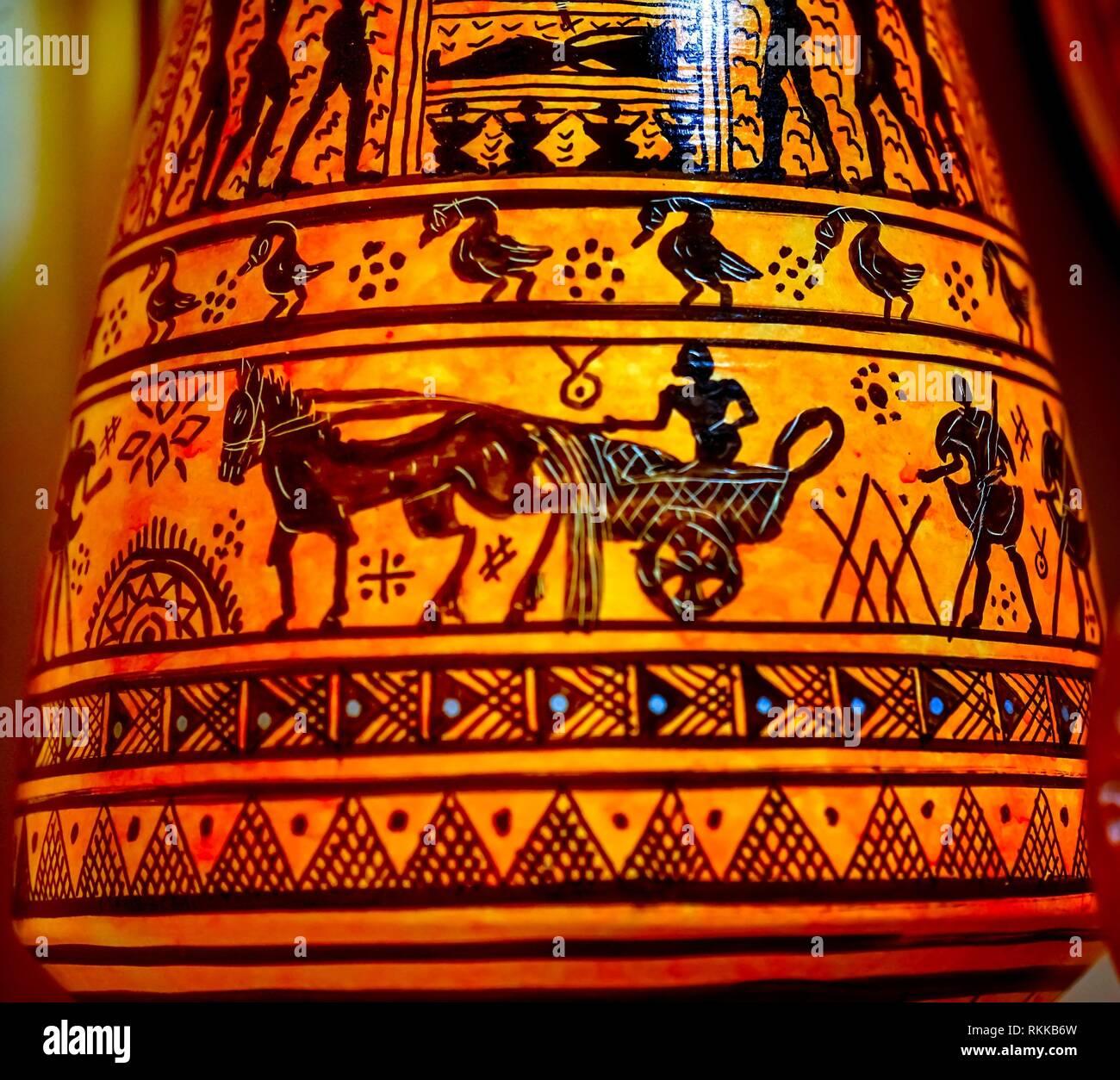 Greek Antiquity Pottery Stock Photos & Greek Antiquity