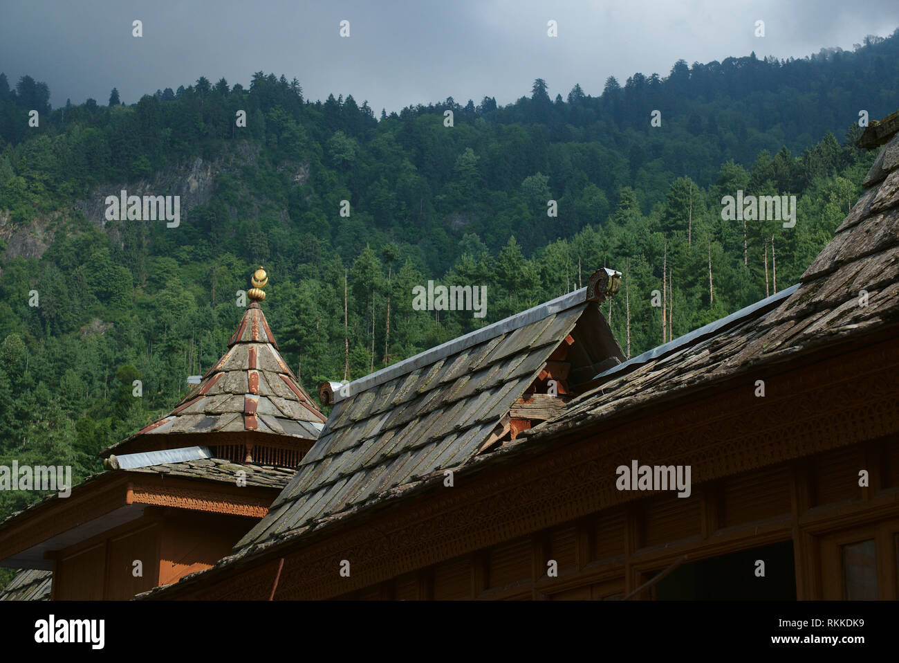 Bhimakali Temple, originally known as Bhimadevi Temple, in Sarahan, Himachal Pradesh. - Stock Image
