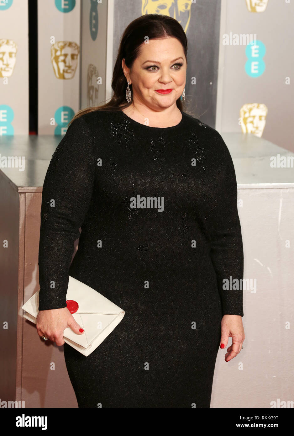 Melissa Mccarthy Seen On The Red Carpet During The British Academy Film Awards 2019 At The Royal Albert Hall In London Stock Photo Alamy